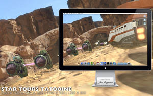Star Tours 2 Tatooine by RurouniVash