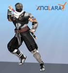 DOA5 Ryu Hayabusa Costume3 Black XPS