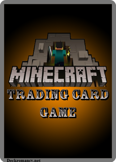 Card For Minecraft Pc Game : Minecraft tcg rules by acaroa on deviantart