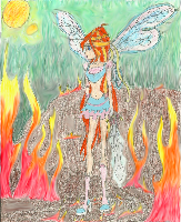 The Last Of The Fairies On A Burning Planet (EDIT) by timefairy237