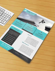 Free Flyer PSD Template (Free Download)
