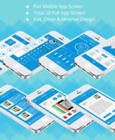 Shop and Social Communication App UI Kit by designphantom