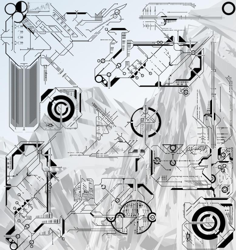 Tech Brush Set V2 by Nickmeister
