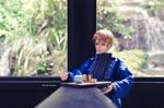 Drink Tea with Flowing Water by WandaRocket