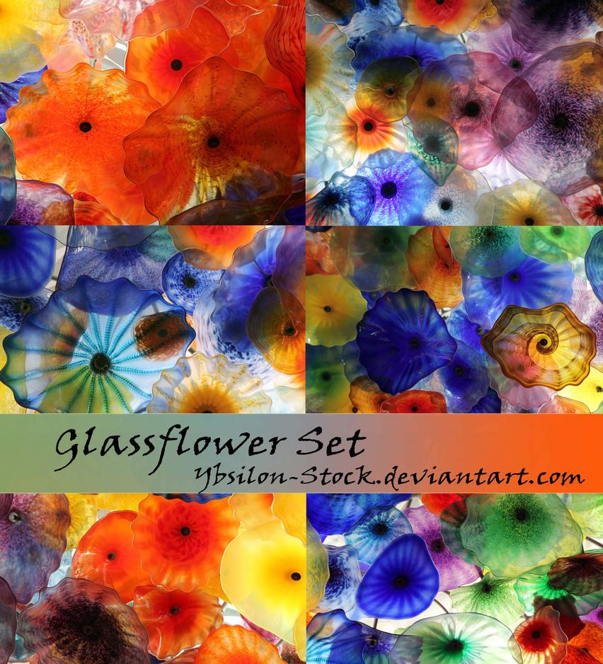 Glassflower-Set by YBsilon-Stock