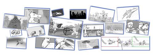 Storyboard Portfolio (2012) by Cearius