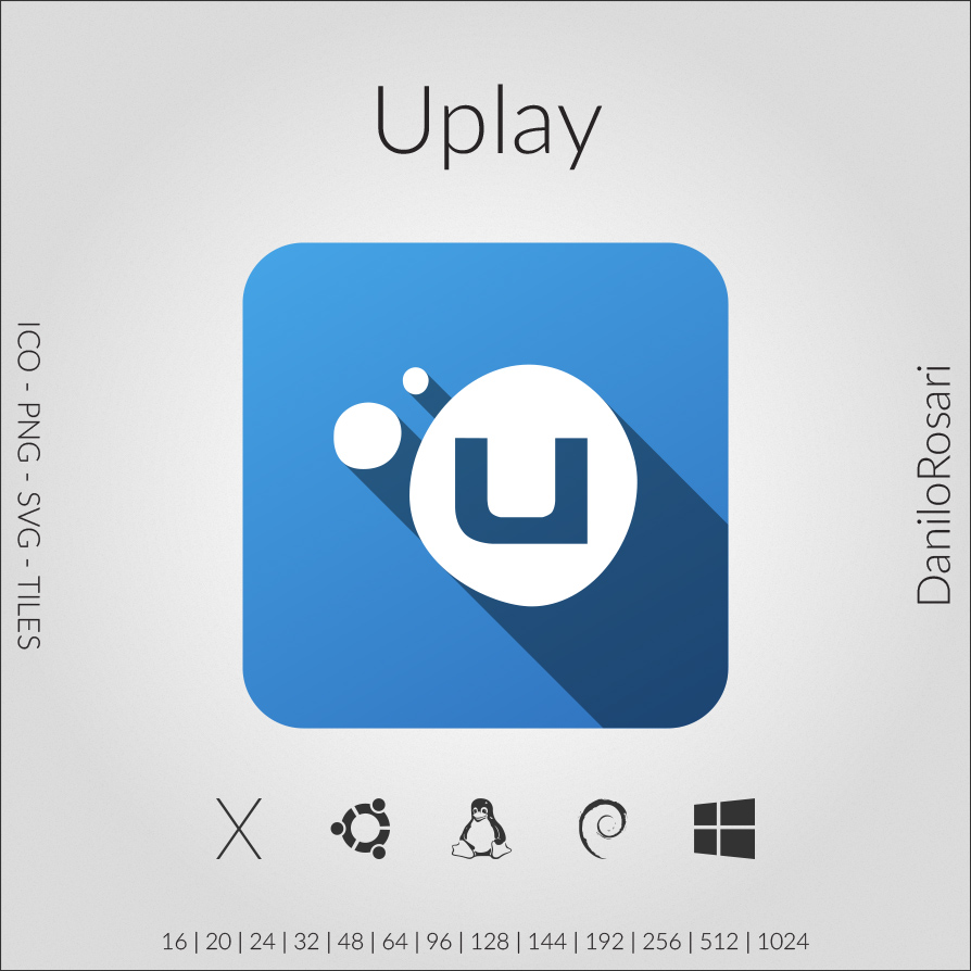 Uplay - Icon Pack by DaniloRosari on DeviantArt