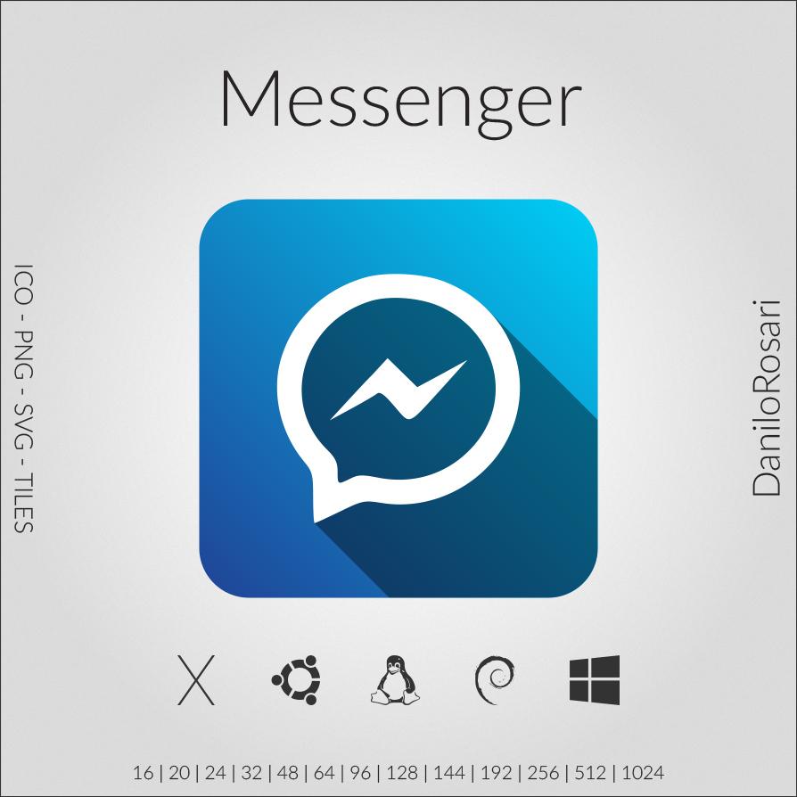 facebook messenger icon pack by danilorosari on deviantart