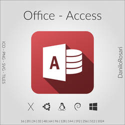 Office (Access) - Icon Pack