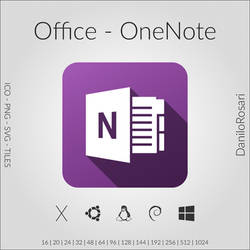 Office (OneNote) - Icon Pack