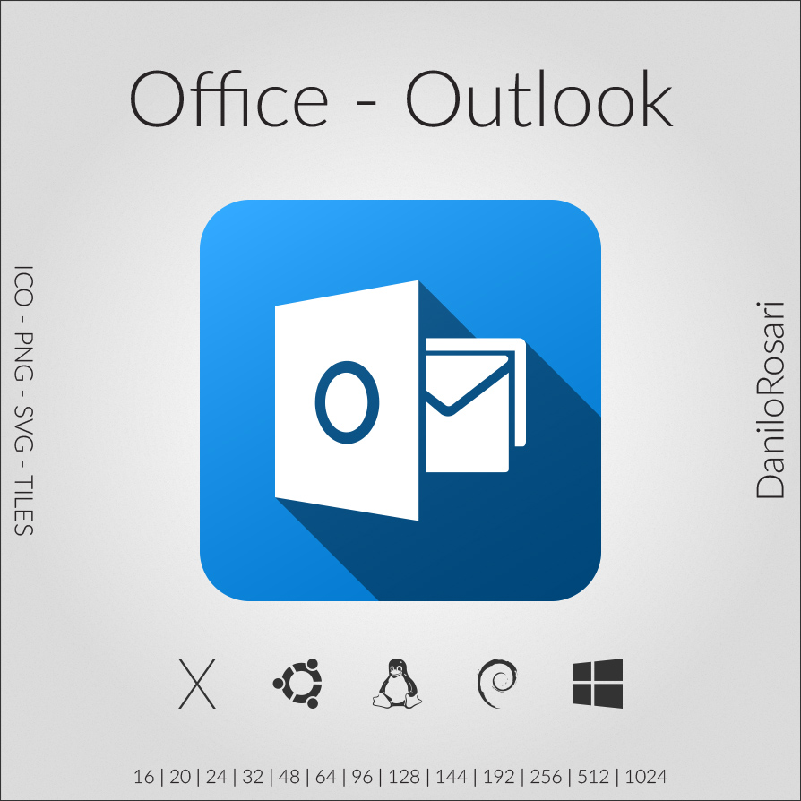 Office Outlook Icon Pack By Danilorosari On Deviantart