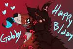 happy (LATE) B/day GABBBBBBBBBYYYYYYYYYYYY!!!!!!!!