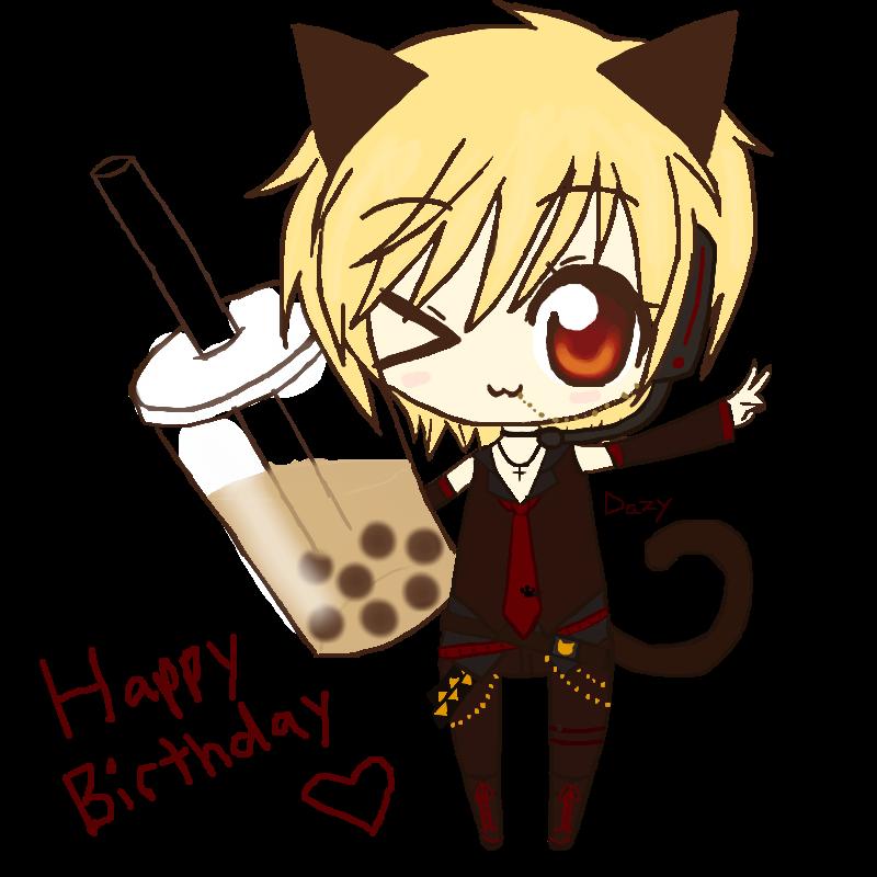 Happy Birthday 96Neko! By DazyCat On DeviantArt