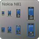 Tango Nokia N81 Icons by dobey