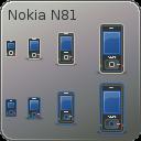 Tango Nokia N81 Icons by dobey