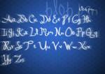 Blob Pen font