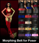 Morphing Belt Prop for Poser