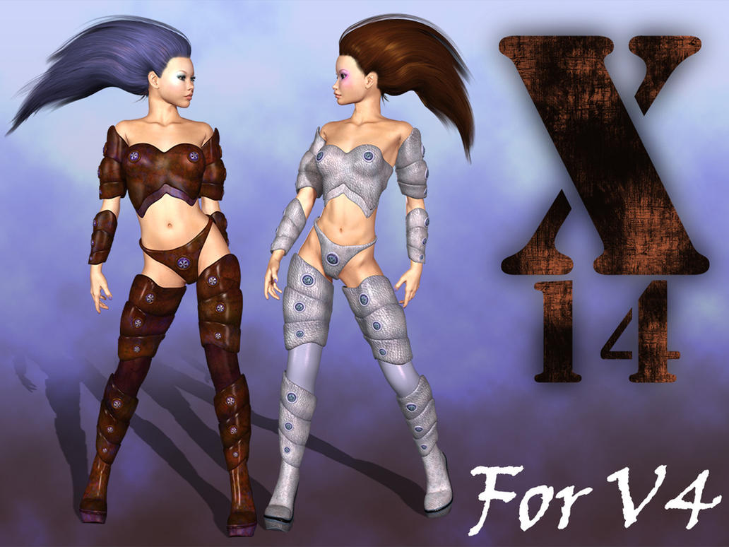 X14 Sci-Fi Suit for V4 Alice by parrotdolphin
