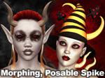 Morphing Posable Spike 4 Poser