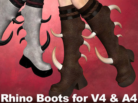 Rhinoceros Boots V4,A4,V4Male
