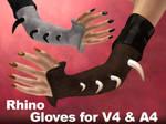 Rhinoceros Gloves V4,A4,V4Male