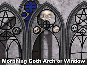 Morphing GothArch Window Poser