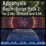 Apophysis Batch Script Pack 2