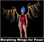 Metal Wings for Poser