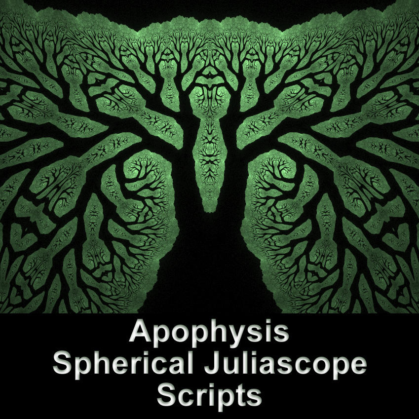 Spherical Juliascope Scripts by parrotdolphin