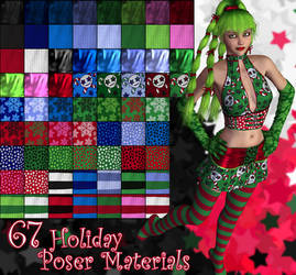 Holiday Poser Materials