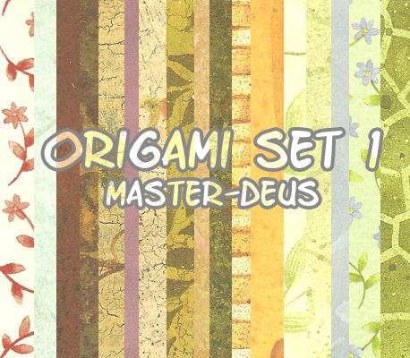 origami set 1 by master-deus