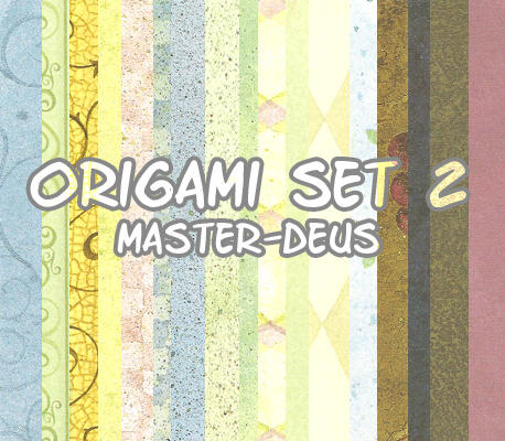 origami set 2 by master-deus