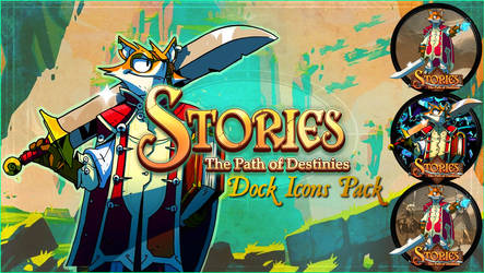Stories: The Path of Destinies Dock Icons Pack