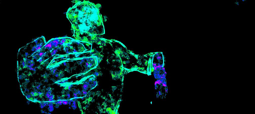 liquid light man by digitalQube18