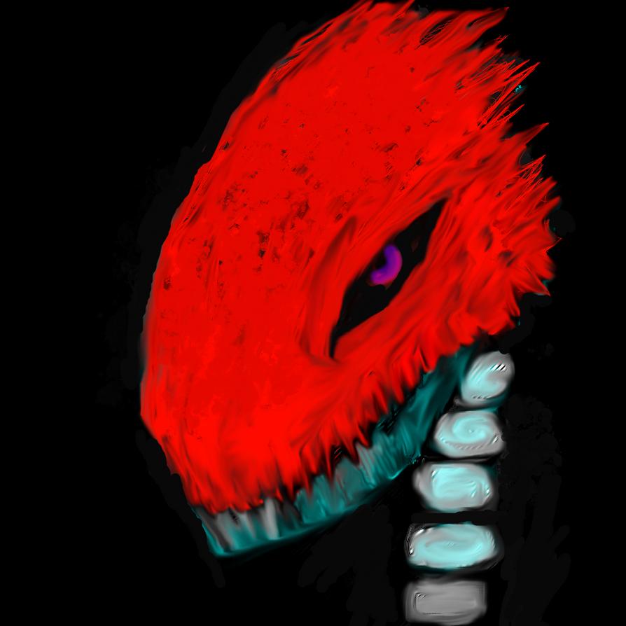 snake skull by digitalQube18