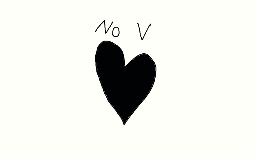 Black none valentine's day 2015 by Microlad