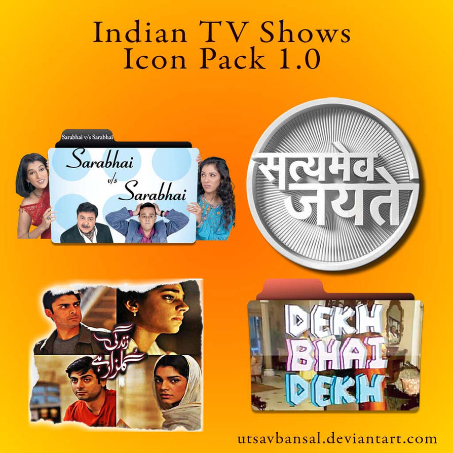 Indian tv shows folder icon pack 1 0 utsavbansal by for Craft shows on tv