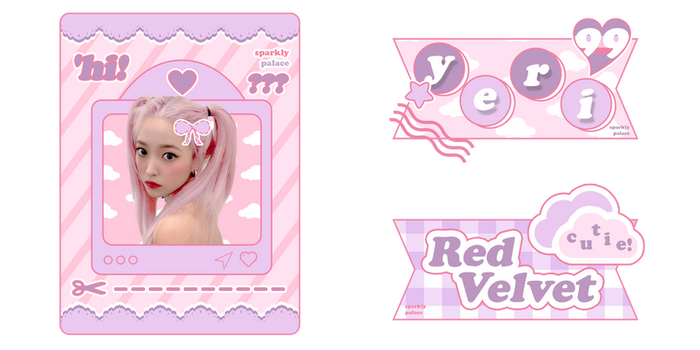 #PSD Template   Photocard by @SPARKLYPALACE