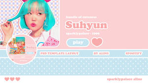 PSD Twitter Layout Template | SPOOTIFY by Aline