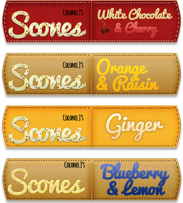 Scones Flag Labels