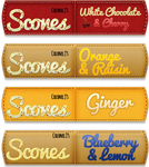 Scones Flag Labels