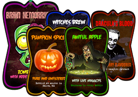 Halloween Potion Labels by Echilon