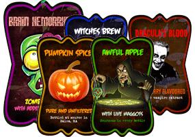 Halloween Potion Labels by Echilon