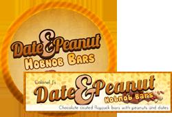 Date and Peanut Hobnob Bars by Echilon