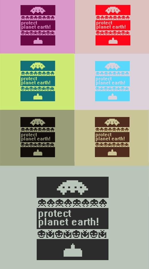 Space Invaders Wallpaper Pack by =M-PlayC3ll on deviantART