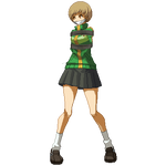 Bound Chie Ready for Battle