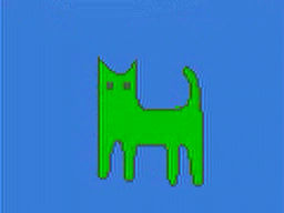 green cat magic