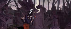 Graveyard Shift *ANIMATED GIF* by reimena