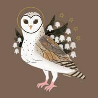 Familiars: Barn Owl by reimena