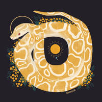 Familiars: Burmese Python by reimena